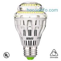 ihocon: SANSI 17W Dimmable LED Light Bulb光線微調燈泡