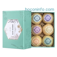 ihocon: Ultra Large Bath Bomb Kit, Pack of 6 洗澡氣泡彈禮盒