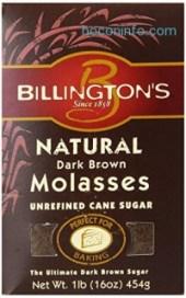 ihocon: Billington's Natural Dark Brown Molasses Sugar, 16-Ounce Bags (Pack of 10)天然黑糖