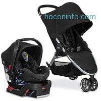 ihocon: Britax 2017 B-Agile/B-Safe 35 Travel System, Black