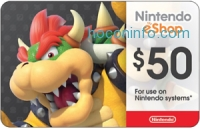 ihocon: $50 Nintendo Gift Card 只賣 $42.50 - Via email delivery