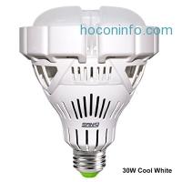 ihocon: SANSI 30W Cool White LED Light Bulb