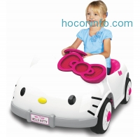 ihocon: Dynacraft Hello Kitty 6V Battery Powered Ride On Car 電動車