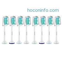 ihocon: Sonifresh Toothbrush Replacement Heads,Electric Toothbrush Heads Fit DiamondClean HealthyWhite FlexCare EasyClean Kids Brush Handles,8 Pack