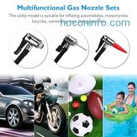 ihocon: ENGREPO 12V Electric Air Compressor Tire Pressure Monitor