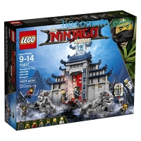 ihocon: LEGO Ninjago Temple Ultimate Ultimate Weapon 70617 Building Kit (1403 Piece)