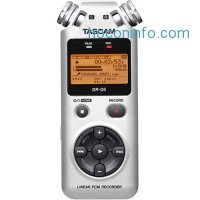 ihocon: Tascam DR-05 便攜數碼錄音機 Portable Handheld Digital Audio Recorder