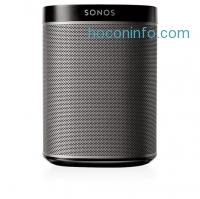ihocon: Sonos Play:1 Compact Wireless Speaker for Streaming Music. Works with Alexa. (Black)