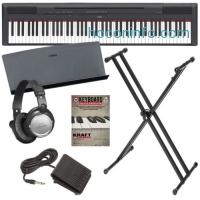 ihocon: Yamaha P-115 Digital Piano - Black BONUS PAK