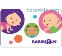 ihocon: $30 BabiesRUs Gift Card只賣$25 - Email Delivery
