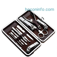 ihocon: Tseoa Manicure Nail Clippers Set of 12Pcs
