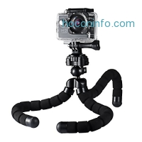 ihocon: Mpow Flexible Tripod with Phone Holder & Bluetooth Remote Shutter藍芽遙控照相腳架