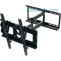 ihocon: Ematic Full Motion TV Wall Mount Kit with HDMI Cable for 19 - 70 Displays