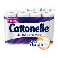 ihocon: Cottonelle Ultra ComfortCare Toilet Paper, Bath Tissue, 36 Family Rolls