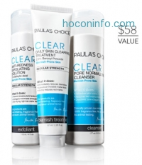 ihocon: Paula's Choice CLEAR Collection for Acne for $19.95 (a $58 value)