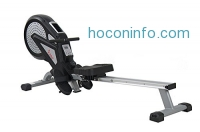 ihocon: Sunny Health & Fitness SF-RW5623 Air Magnetic Rowing Machine Rower w/ LCD Monitor 划船健身機