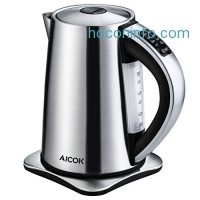 ihocon: Aicok Electric Kettle with 6 Temp Setting 1.7L 不銹鋼電熱水瓶