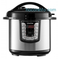 ihocon: Gourmia GPC625 Smart Pot Multifunction Stainless Steel Pressure Cooker 6 Qt.
