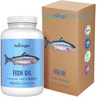 ihocon: Natrogix Omega 3 Fish Oil 3000 mg /serving, 180 Softgels