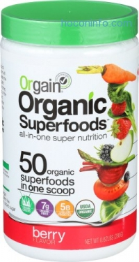 ihocon: Orgain Organic Superfoods, Berry, 0.62 Pound, 1 Count