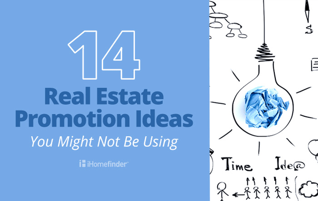 iHomefinder - 14 Real Estate Promotion Ideas You Might Not Be Using Blog Graphic - 20170724