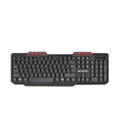 Fantech K210 Silent Multimedia USB Office Use Keyboard Black