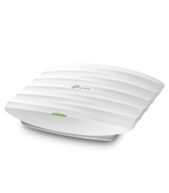 AC1350 Dual Band Ceiling Mount Access Point, Qualcomm, 867Mbps at 5GHz + 450Mbps at 2.4GHz, 1 Gigabit LAN, 802.3af PoE and Passive PoE, 3 Internal Antennas, MU-MIMO, Band Steering, Beamforming, Airtime Fairness, Centralized Management, Captive Portal, Load Balance, Rate Limit, VLAN, Mesh, Seamless Roaming