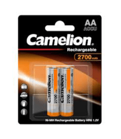 Camelion 2700mAh Ni-MH AA Rechargeable Battery