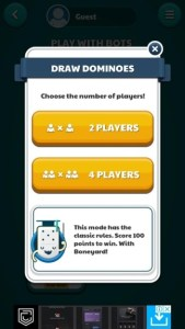 dominoes game online 2 players