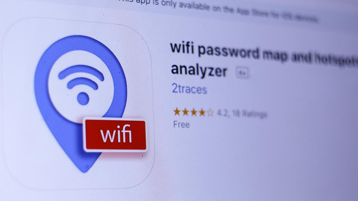 Wifi password map