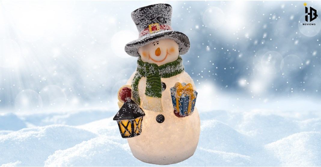 Christmas Glowing Snowman