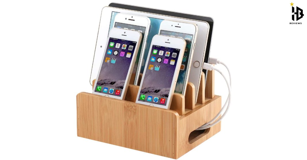 Wooden Charging Station