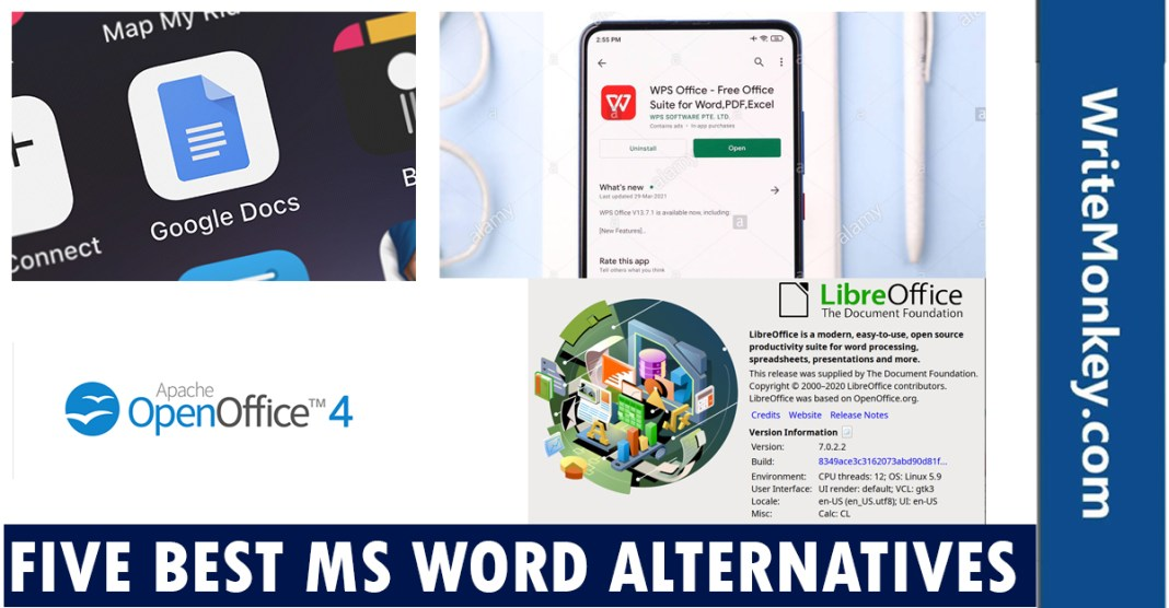 5 best MS word alternatives