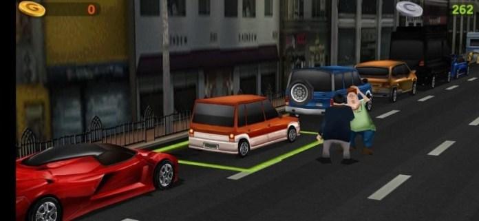 Dr driving street park