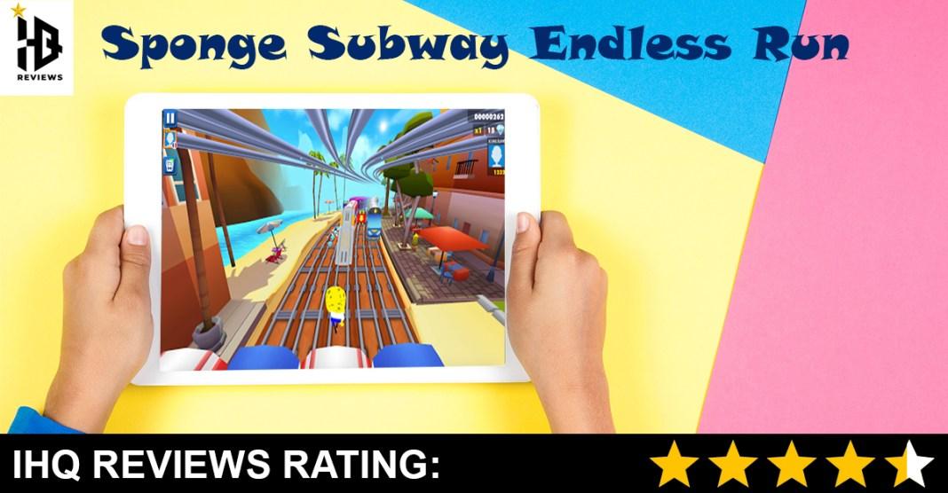 Sponge Subway Endless Run Game