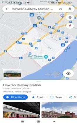 google map lives content