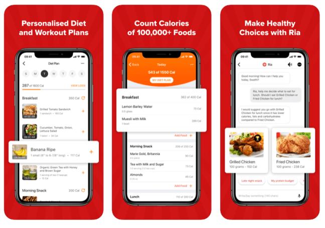 healthify app plans