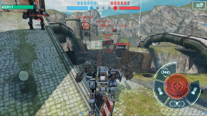 war robots game