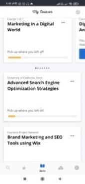 coursera app review
