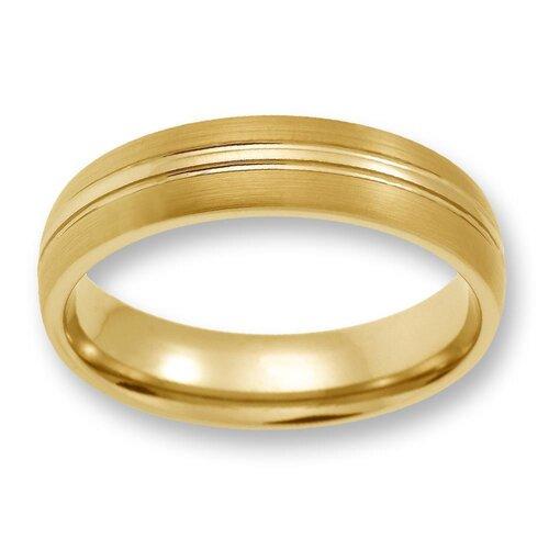 Herren Ring aus WolframTungsten ohne Steingold TW02103