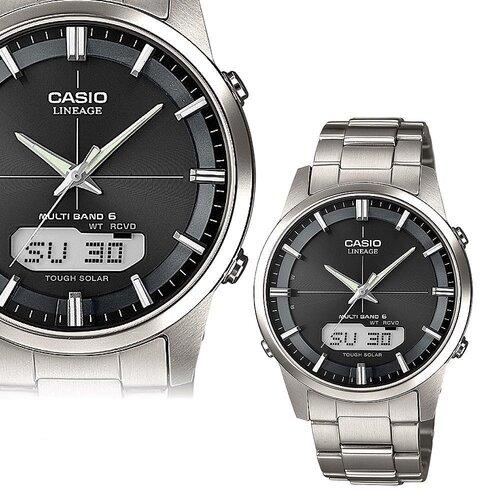 CASIO Funk Collection Herren Uhr Armbanduhr aus Titan LCW