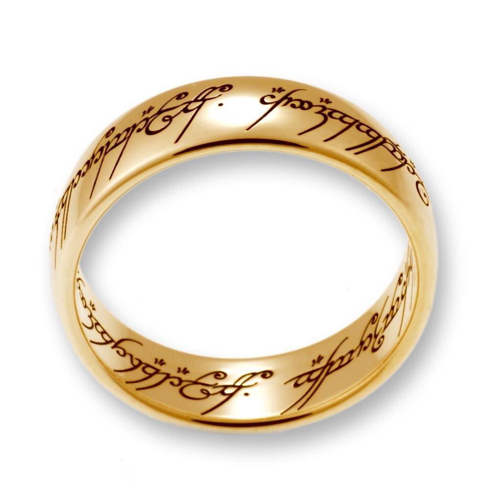 Herr der RingeHobbit Schmuck by Schumann Design der EINE Ring aus ma