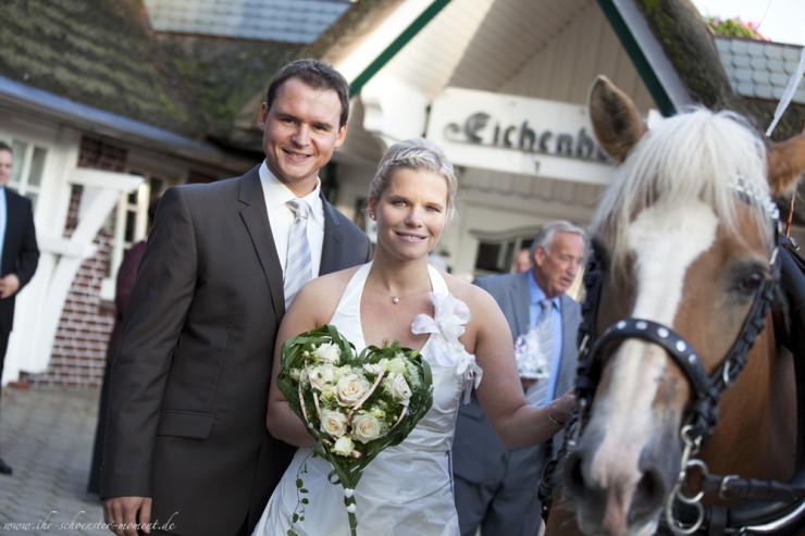 Hochzeit Rike und Kai Empfang Eichenhof Helmste