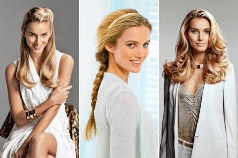 Lange Haare Stylen Frisuren Für Lange Haare Mit Anleitungen