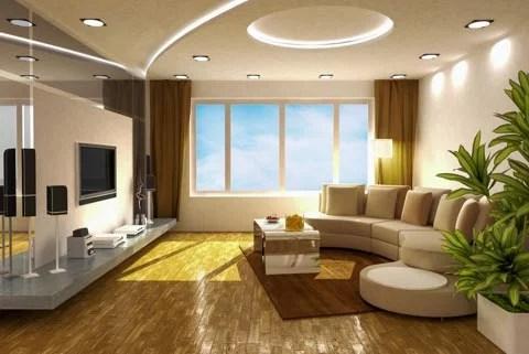 Wohnzimmer Braun Lila