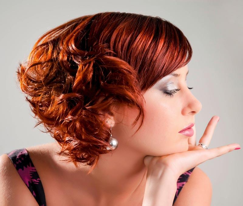 Lockige Kurzhaarfrisuren  kurze lockige Haare  Bildergalerie