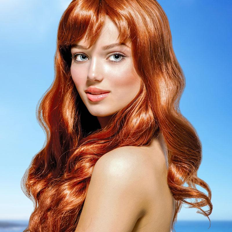 Frisuren fr rote Haare  Bilder