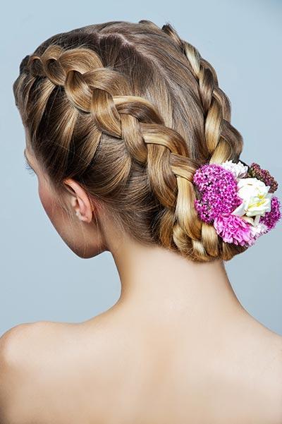 Flechtfrisuren fr lange und mittellange Haare