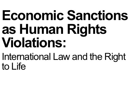 Economic Sanctions as Human Rights Violations