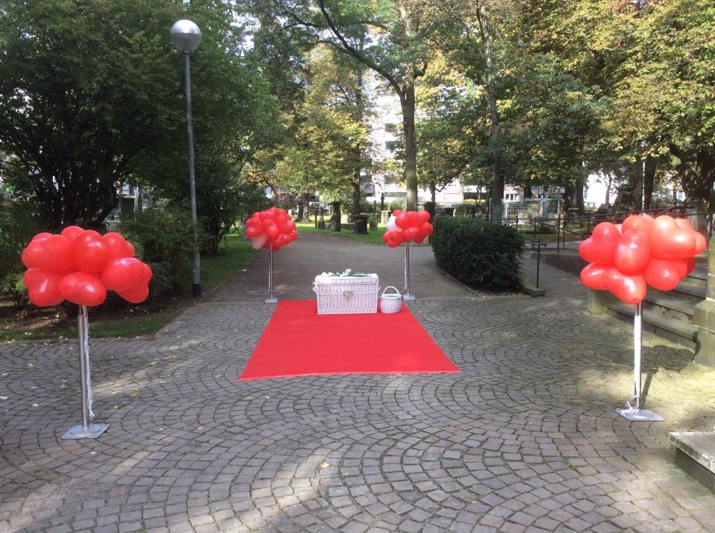 Hannover an der Gartenkirche St Marien